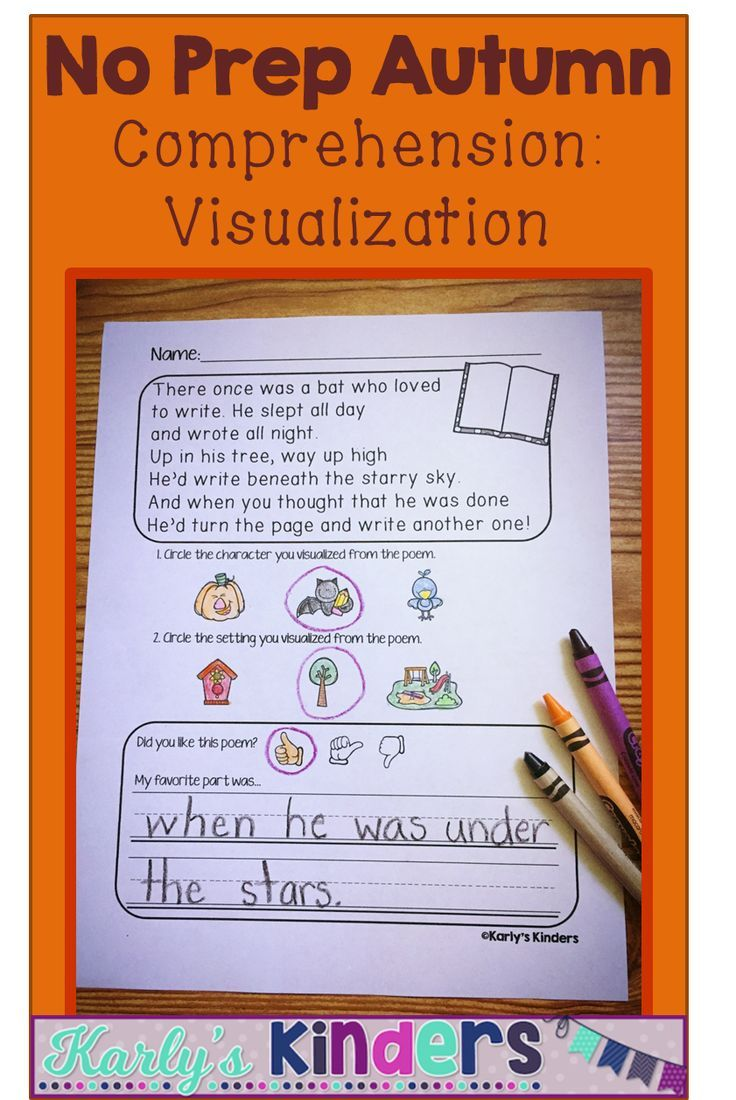 This Product Includes Several Fall Themed Poems That Are Great For Practicing The Comp Teaching Character Kindergarten Reading Activities Creative Lesson Plans [ 1100 x 736 Pixel ]