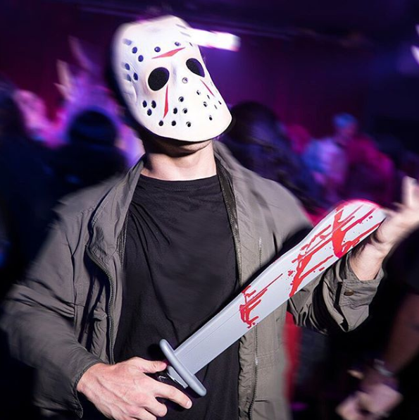 Friday The 13th Jason Mask Machete Accessory Kit Jason Mask Jason Mask