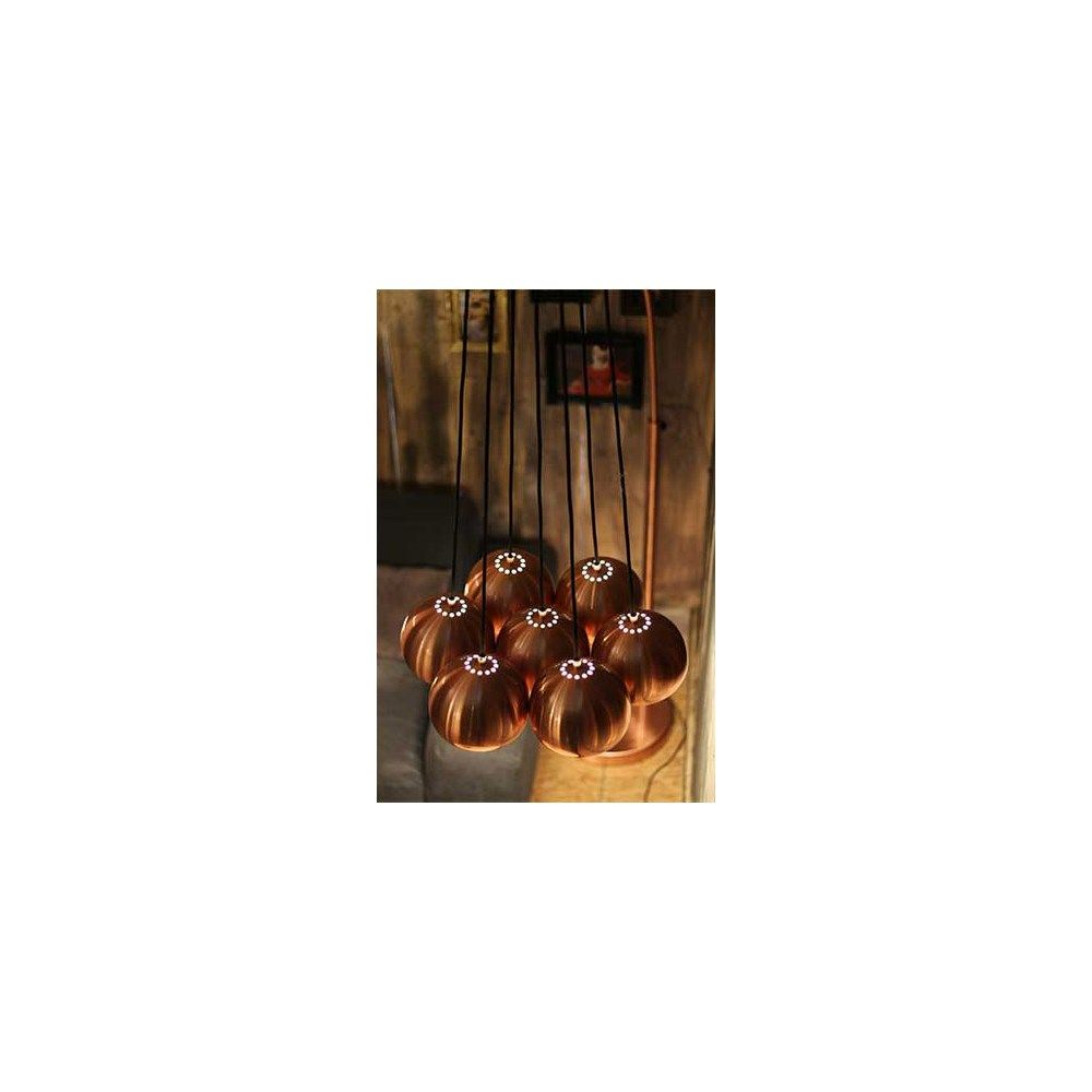 Zuiver Multishine Copper Hanglamp