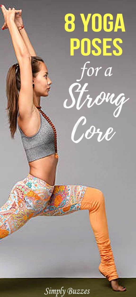 8 Yoga Poses For A Strong Core That You Should Do It | #yogaforcore #corestrength #yogaworkouts #fit...