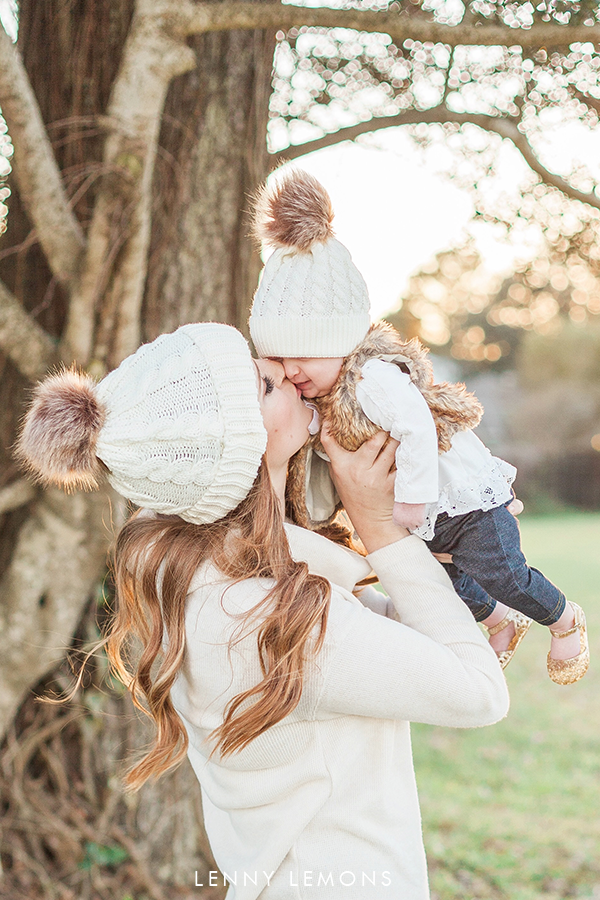 9f67c6d904e Matching Clothes for Family Portrait. Mom + Me Knit Beanie for ...