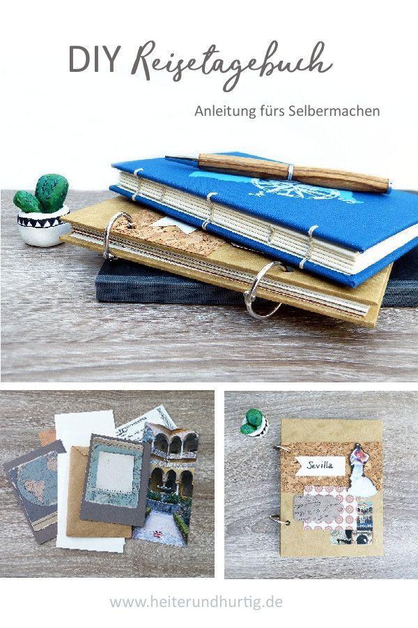 Mach dein eigenes DIY Reisetagebuch #machesselbst–diy