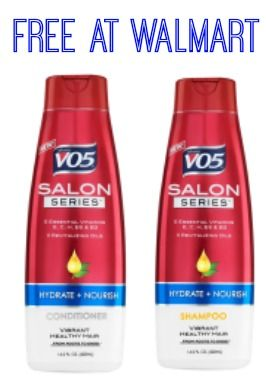 Run over and print this V05 coupon for $1.00 off any one VO5 Salon Series!  Grab some FREE Shampoo and Conditioner!!