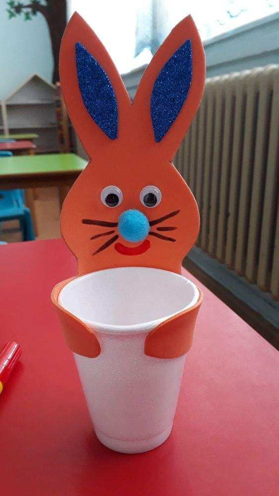 Easter Bunny Crafts for Toddlers, Preschoolers, Kindergartners & First Graders