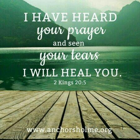 2 Kings 20 #scripture #healing #prayer | Truth of God