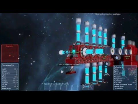 Space Engineers #1 - Jump Drives, GPS and Giant Spiders ...