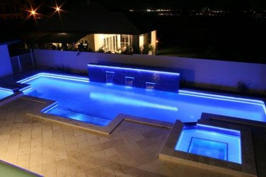 Custom Outdoor Led Lights | LED Strip Lights Outdoor Use Pool 400x266 LED  Strip Lights Outdoor