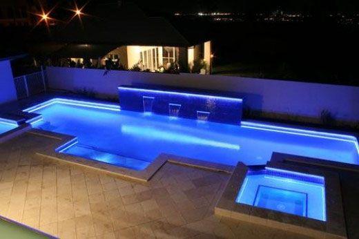 Custom Outdoor Led Lights   LED Strip Lights Outdoor Use Pool 400x266 LED  Strip Lights Outdoor