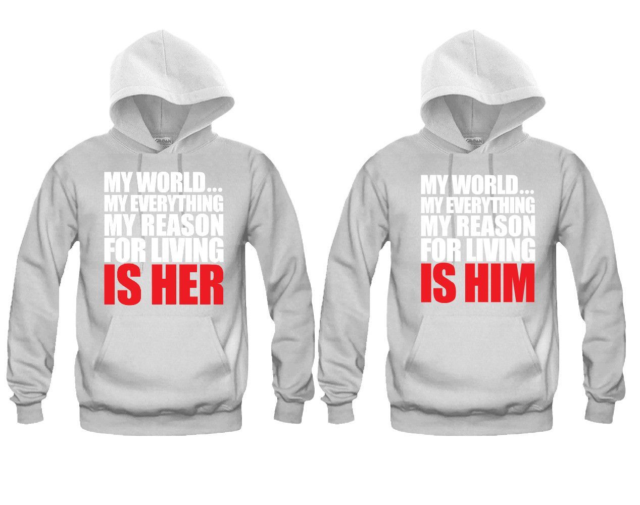 Him hoodies