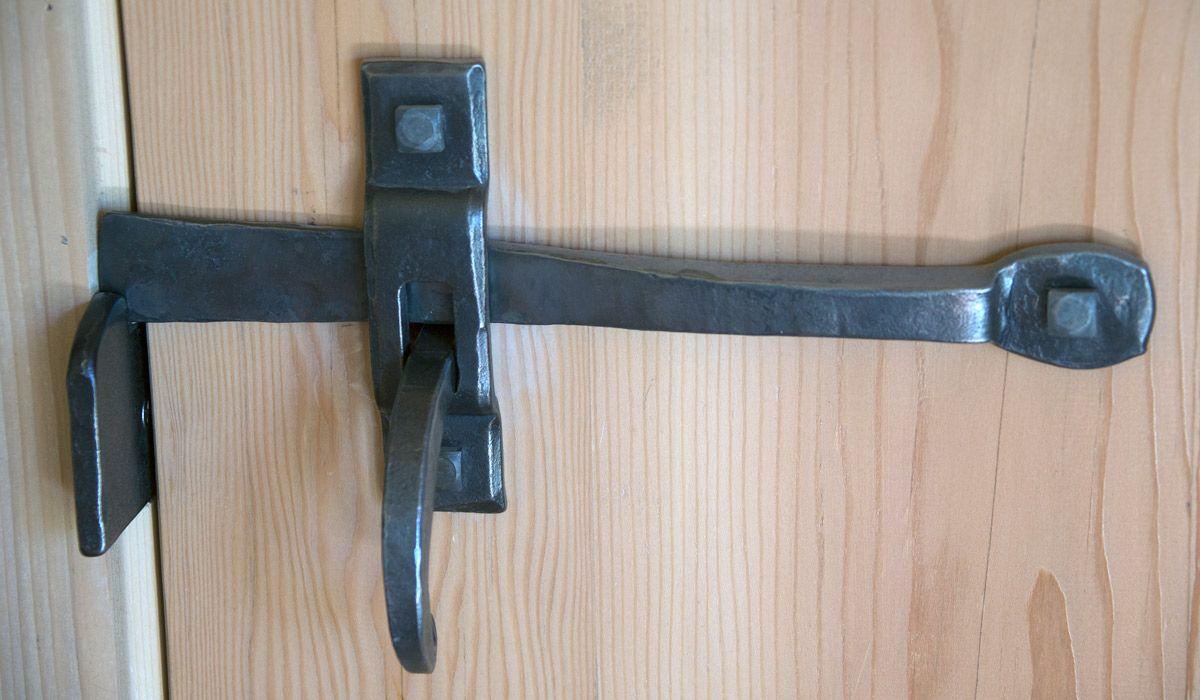 Hardware: smith'd door latch | Barn door latch ...