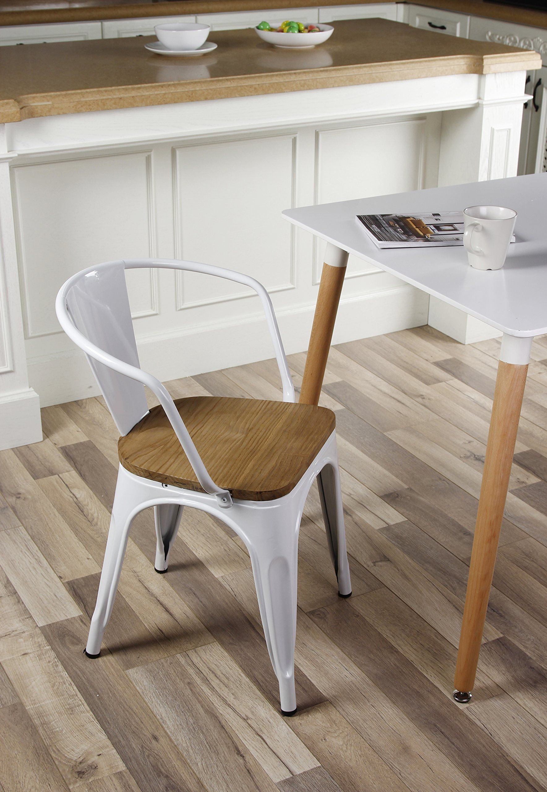 GIA Metal Dining Chairs With PACK
