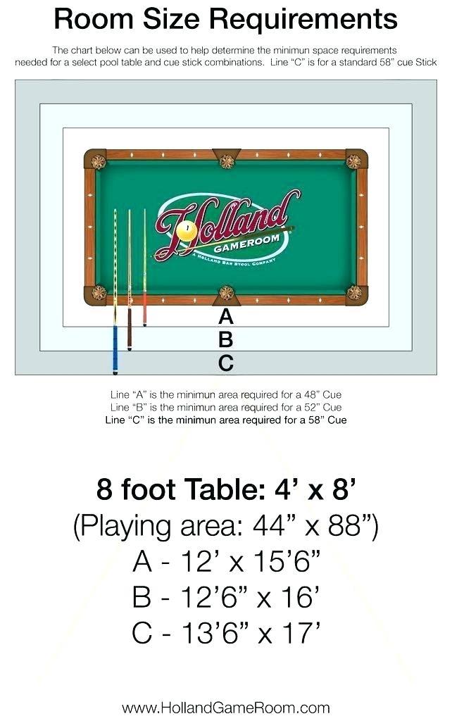Room Dimension For Pool Table Pool Table Pool Table Dimensions Table Dimensions