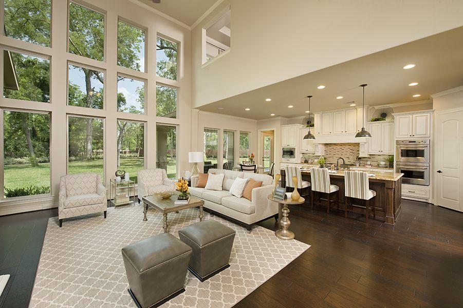 4931 sq ft model home family room gourmet kitchen