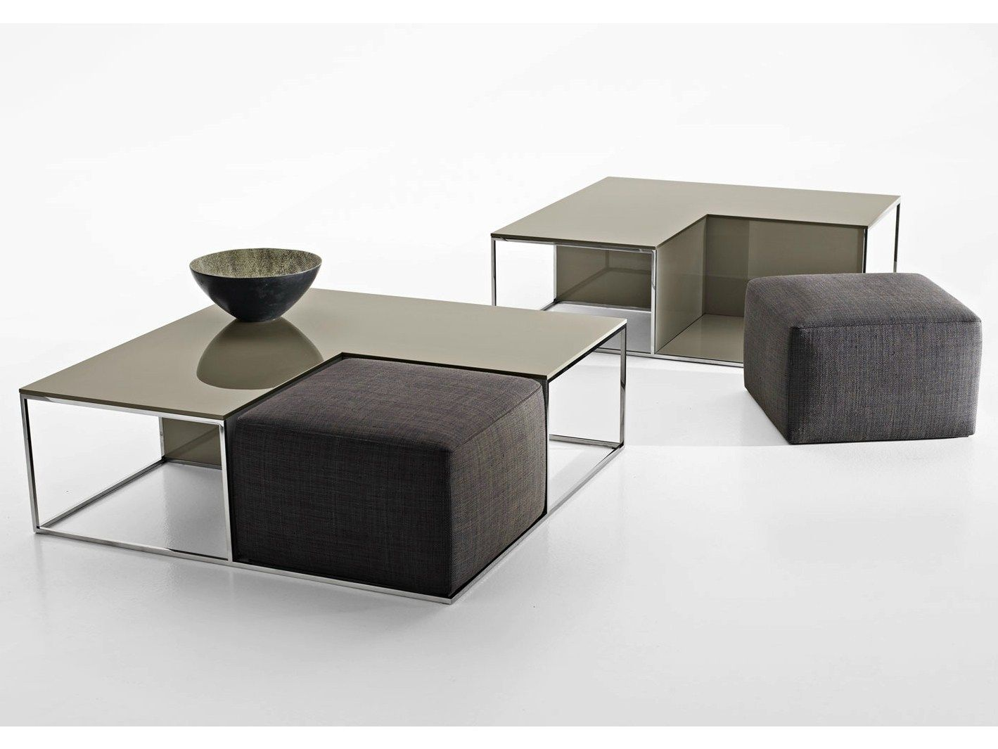 coffee table with poufs - Google Search | Omar\'s studio ...