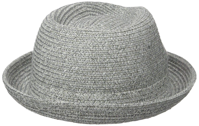 1bb39770154 Men s Billy Braided Fedora Trilby Hat - Alloy - C312O23N8R9 ...