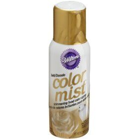 Edible Gold Food Spray. The possibilities are endless ...