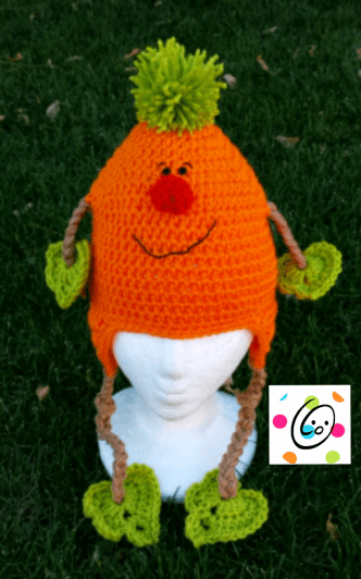 Pattern: Patrick Pumpkin Hat | Kindermütze | Pinterest | Mütze ...