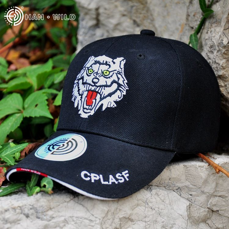2275bad2063 HAN WILD Brand Limited Edition Tactical Caps Bones Outdoor Sports LOGO  Breathable Summer Adjust Strap Back Hat New