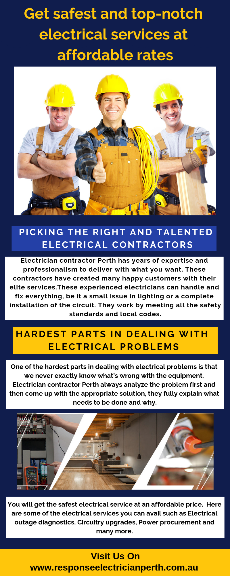 Electrician Contractor Perth Has Years Of Expertise And
