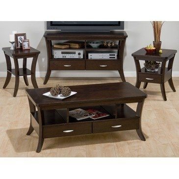 Jofran Joes Espresso Occasional Table Set By Jofran Inc 1203 57 Finished In Joes Espresso Coffee Table Cocktail Tables Living Room 3 Piece Coffee Table Set Jofran living room cocktail table