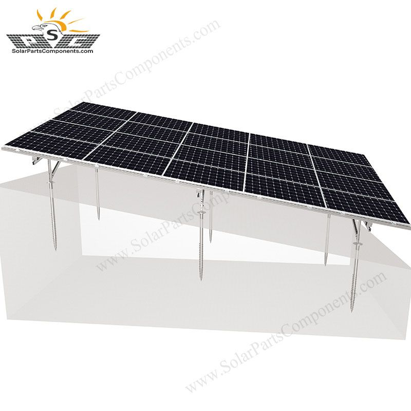 Pin On Solar Ground Mounting Systems