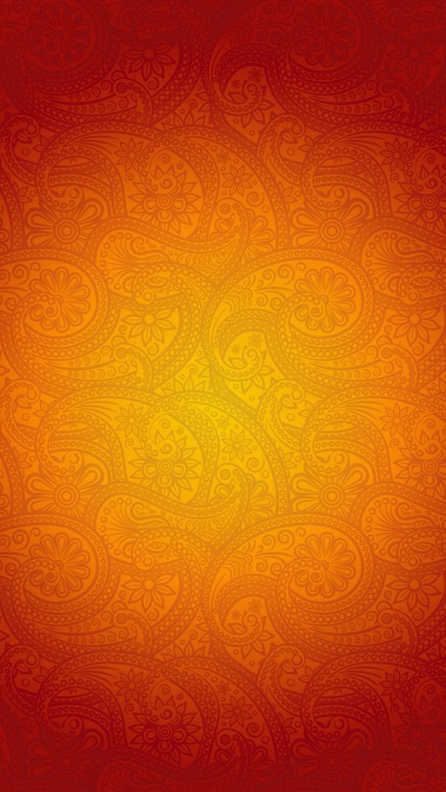 iPhone 5 Wallpapers Orange Patterns iPhone 5 Wallpaper