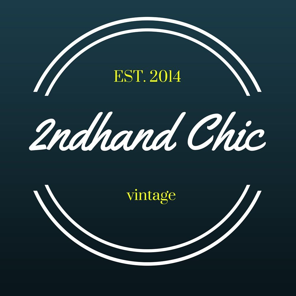 2ndHandChicc - Thank you for stopping by! With a passion for home decor, I strive to find you vintage treasures that will blend with todays trends  #vestiesteam