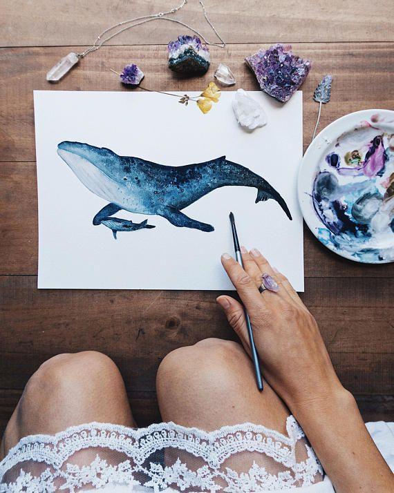 Baleine bleue - #Blue #ete #Whale