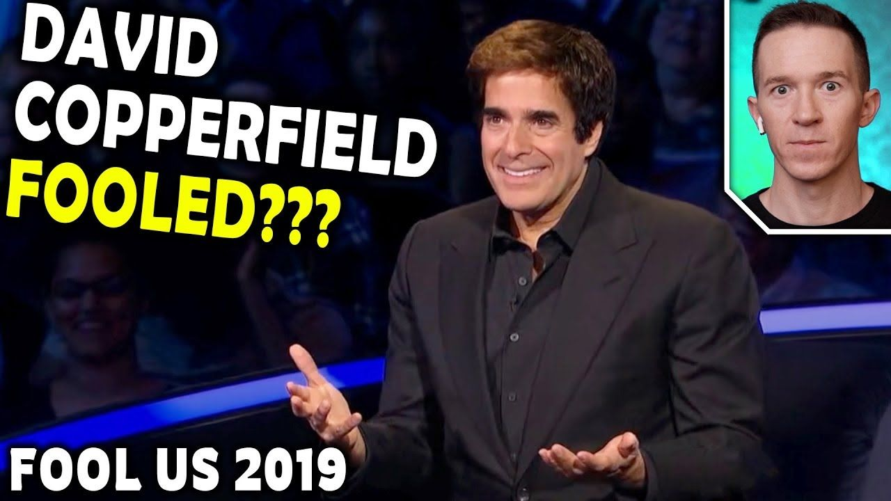 magician reacts to david copperfield on penn and teller