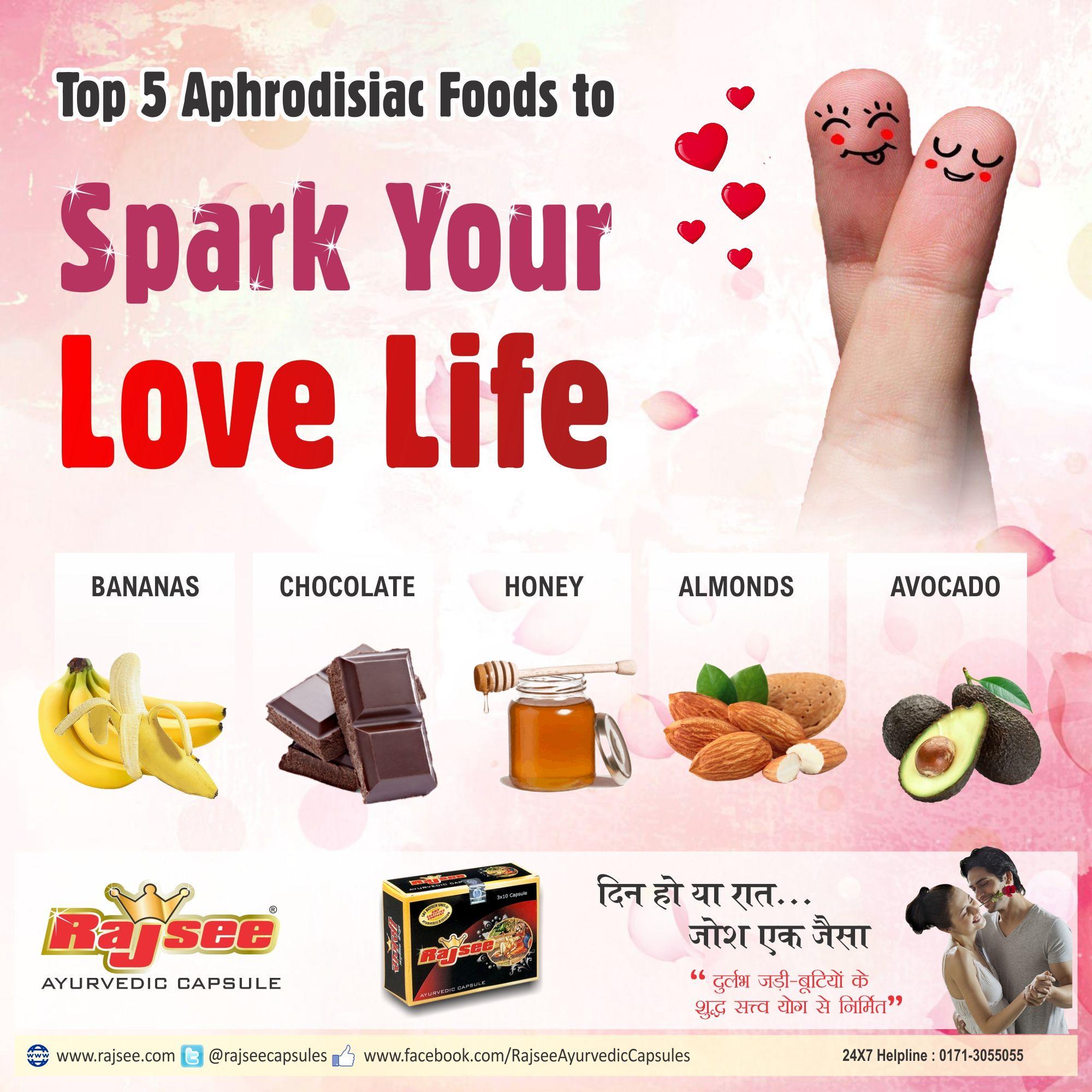 Male aphrodisiac foods