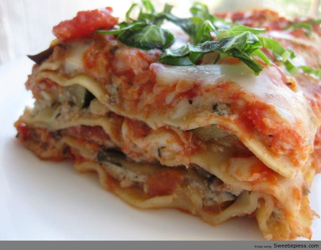 Sweetie Pies Best Italian Lasagna Recipe Roasted Vegetable