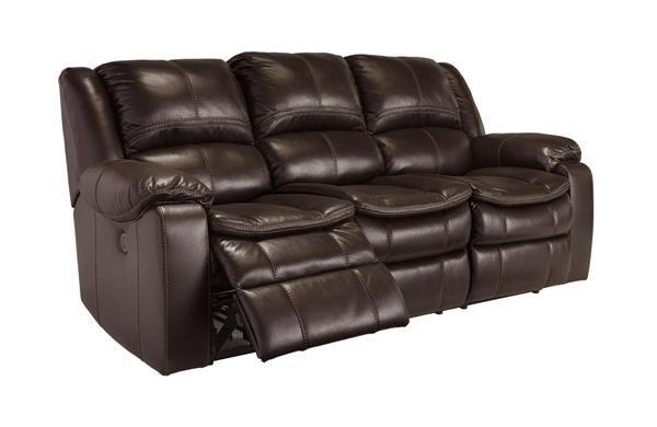 Long Knight Contemporary Brown Reclining Sofa Reclining Sofa Faux Leather Sofa Recliner