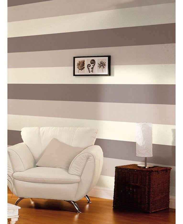 Stripe Wallpaper Chocolate, Coffee & Cream Direct ...
