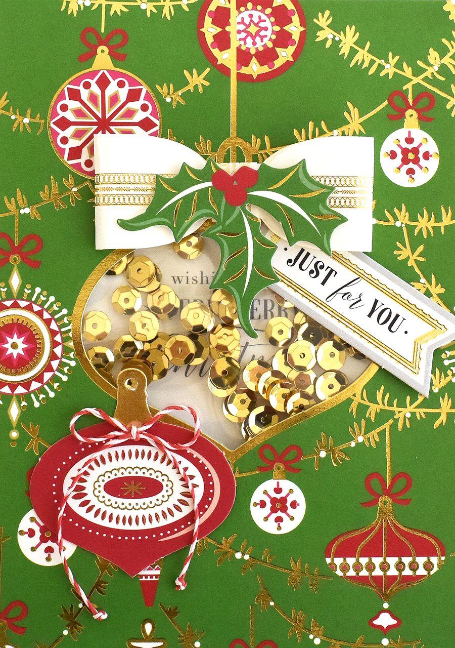 HSN October 3, 2017 Christmas Shaker Card Making Kit