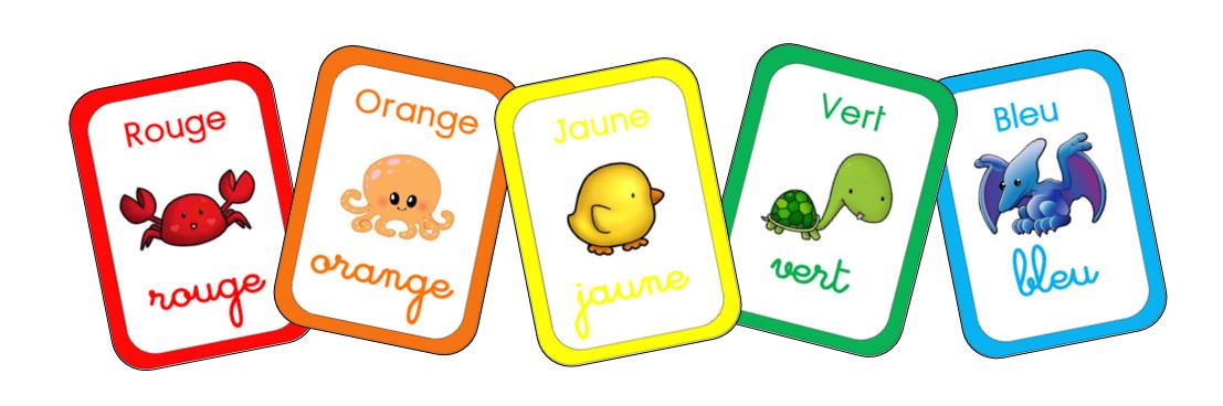 Les couleurs en français pdf