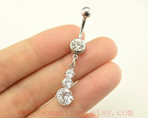 Belly Rings Drop Diamond Belly Button Rings Fantastic Bellybutton Jewelry Body Piercing Fr Navel Piercing Jewelry Belly Button Rings Diamond Belly Button Rings