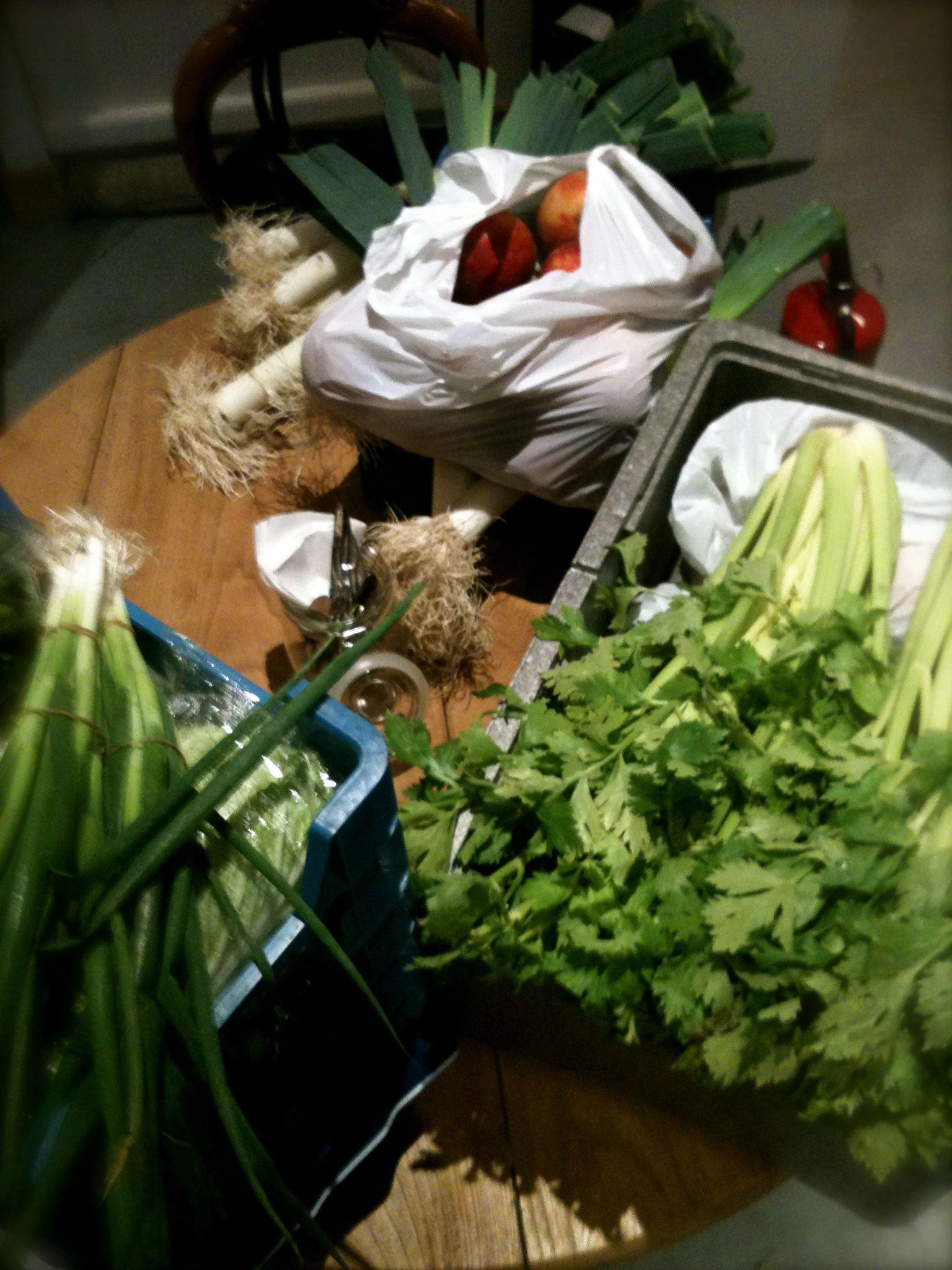 fresh vegetables # plat du jour www.lechateausimple.be