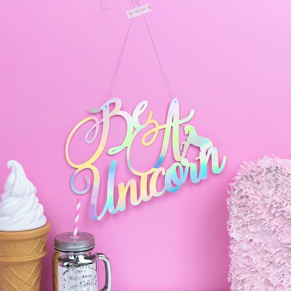 Unicorn Wall Decoration