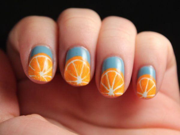 Awesome 13 outrageous orange fun and fruity nail designs all new awesome 13 outrageous orange fun and fruity nail designs prinsesfo Choice Image