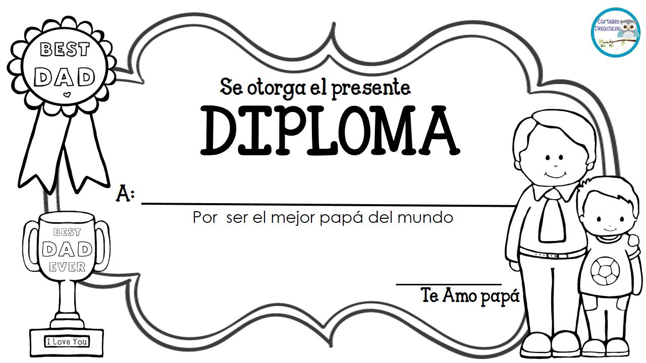 Diplomas para premiar a nuestros alumnos | Diplomas, Padres y Día de ...