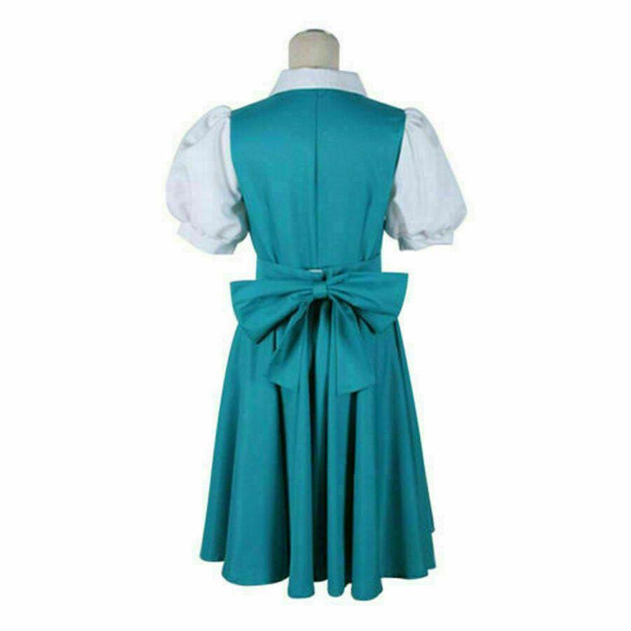 Ranma 1//2 Akane Tendo Akane Outfit Dress Anime Manga Cosplay Costume