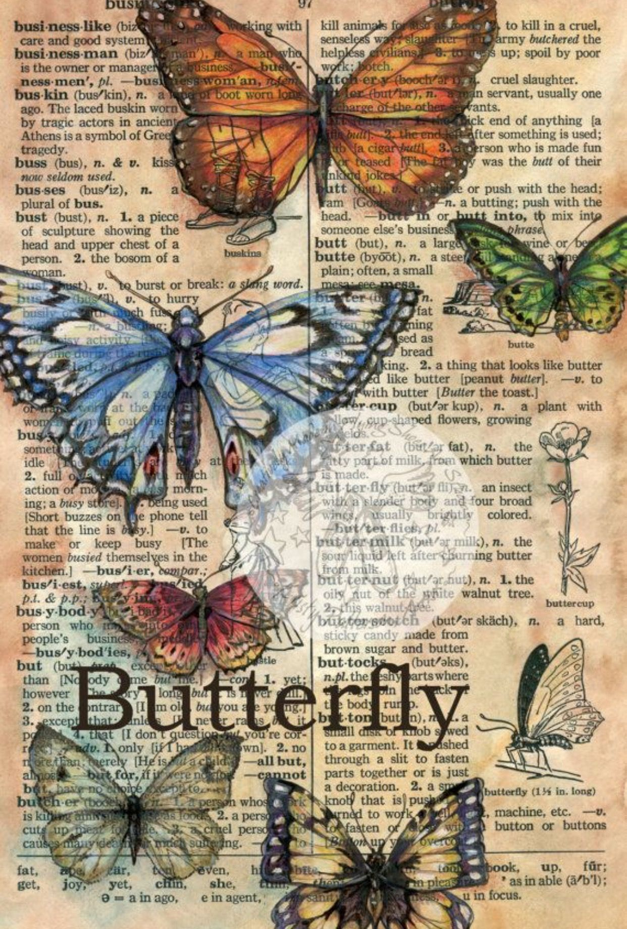 Explore Butterfly Drawing Wall Art And More