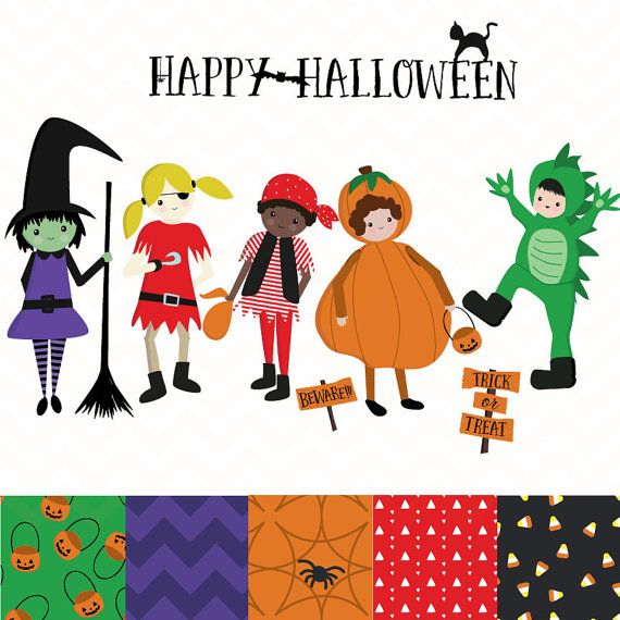 halloween clipart trick or treat clipart cute halloween graphics rh pinterest ca Nativity Clip Art Nativity Clip Art