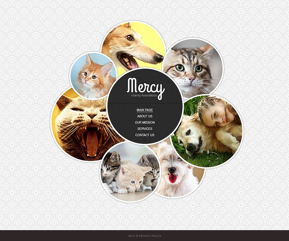 Animal Shelter Website Template 43558 Animal shelter