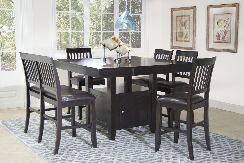 Kaylee Espresso Dining Room Mor Furniture For Less