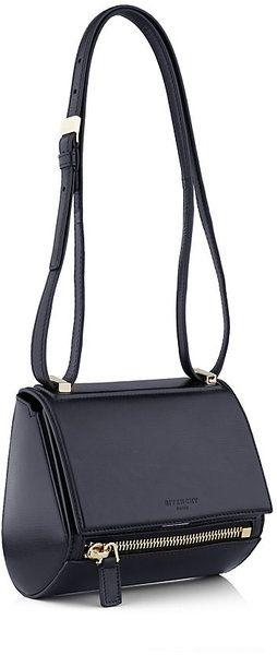 Caixa de Pandora Mini Givenchy bolsa em Lyst azul