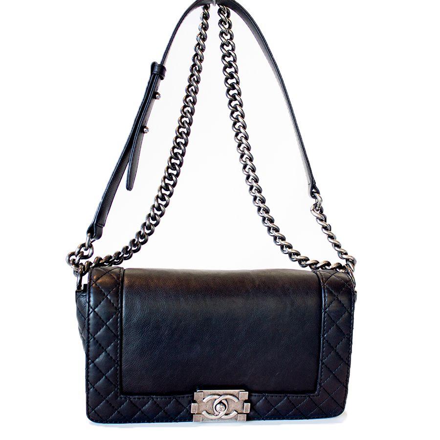 e01451a95e6d Chanel Boy Reverso Medium Flap Bag   Spring/Summer   Bags, Chanel ...