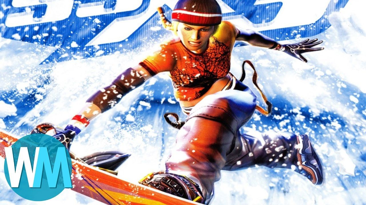Top 10 Most Gnarly Snowboarding Games Snowboarding games