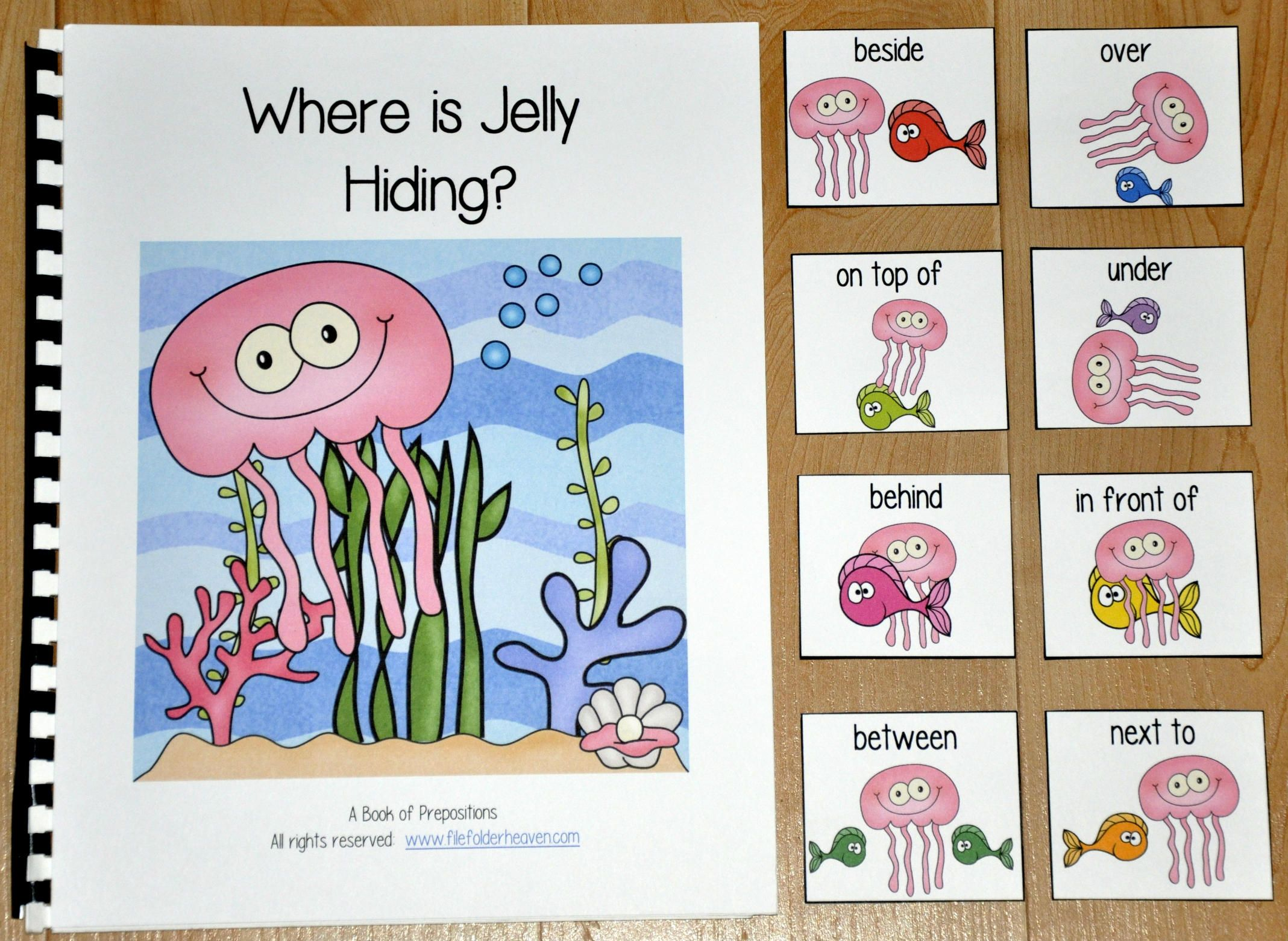 Ocean Adapted Book Where Is Jelly Hiding