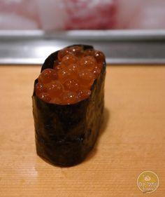 Salmon Roe at Sushi   Mein Blog >> #tumblr